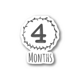 4months Stickers
