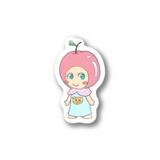 えみりんごちゃん Stickers