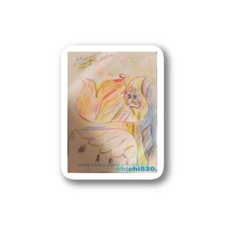 chichi June (ステッカー) Stickers