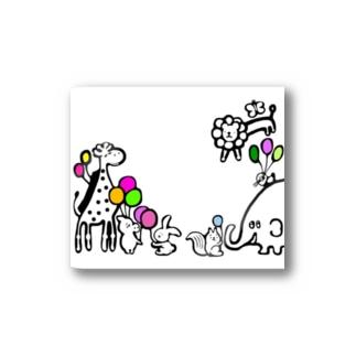 風船動物 Stickers