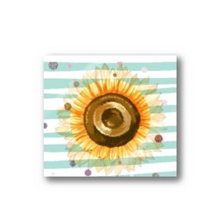 太陽みたいなひまわり Stickers