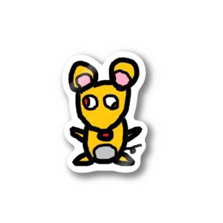 ねずみシールちゅーちゅー Stickers