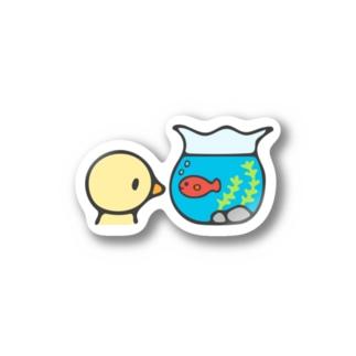 きんぎょばち Stickers