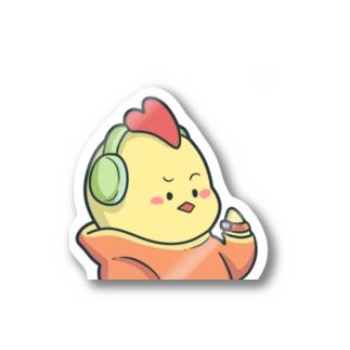 にわとりさん Stickers