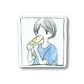 ぱんたべ Stickers