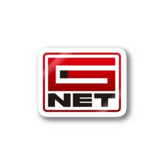 G-NET ROGO RED Stickers
