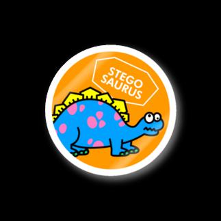 ILLUSTのステゴサウルスステッカー