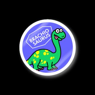 ILLUSTのブラキオサウルス ステッカー