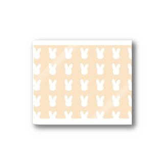 うさぎさんのパターン Stickers