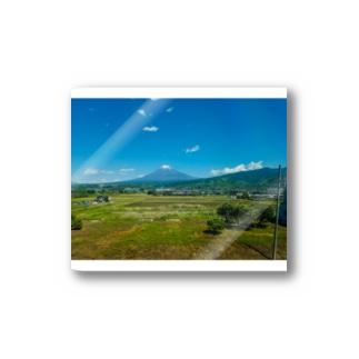 Fuji山 Stickers