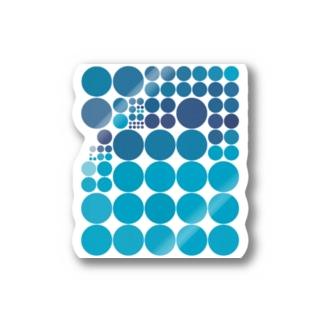 水玉シリーズ27 Stickers