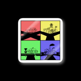 家電凌販 鴫野店の何字路 Stickers