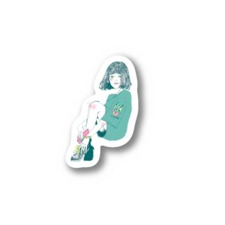 サブカル女子 Stickers