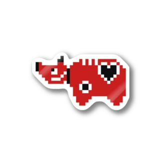赤べこソロ Stickers