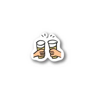 カンパイ Stickers