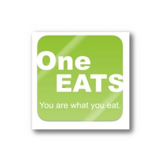 one eatsオリジナル Stickers