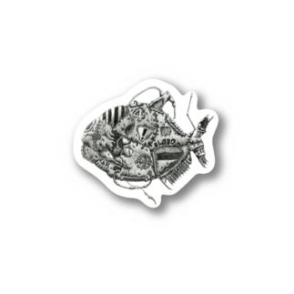 ピラニア Stickers