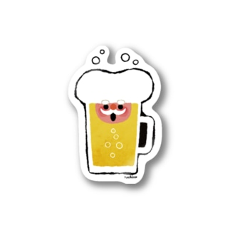 BEER KING! Stickers