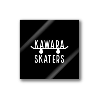 KAWARA SKATERS スケボーステッカー ステッカー