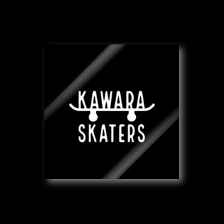 oreteki design shopのKAWARA SKATERS スケボーステッカー ステッカー
