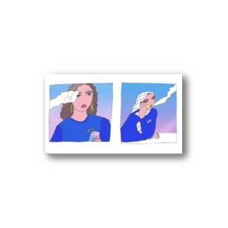 シーシャgirls Stickers