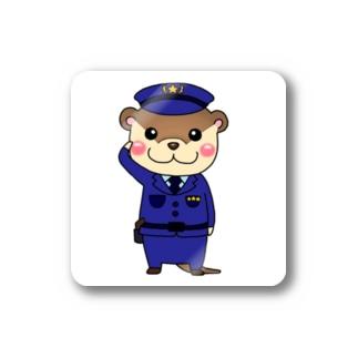 警察カワウソ Stickers