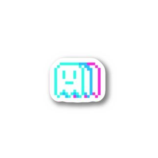 ZANSIN(ドット) Stickers