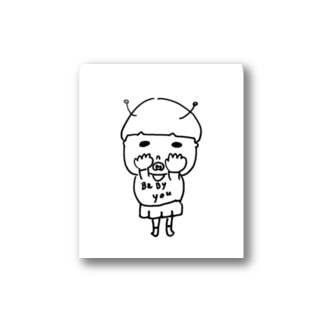 bebiko2 Stickers