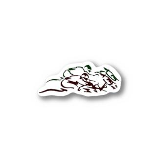 馬1 Stickers