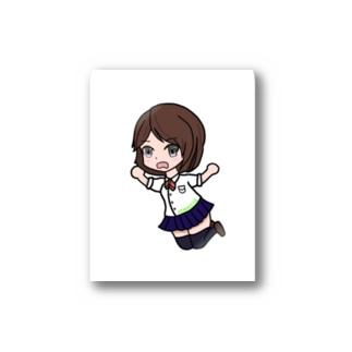 二宮ミニキャラグッズ Stickers