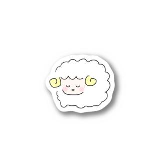 ひつじのお昼寝 Stickers