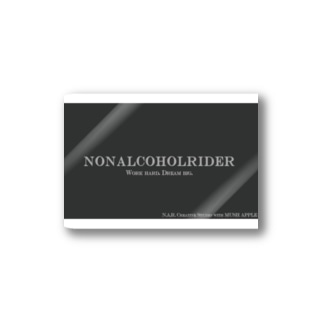 NONALCOHOLRIDER simple2 Stickers