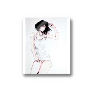 夏風少女🎇 Stickers
