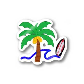 ALOHAWAII🌴🌊🌞 Stickers