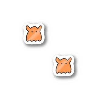 ゆるっと深海(メンダコ)ミニステッカー Stickers