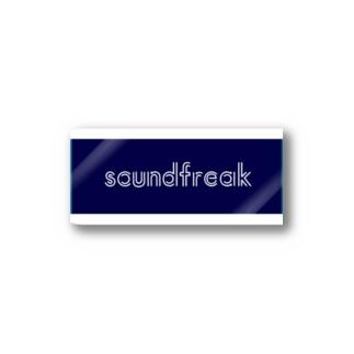 soundfreak (blue) Stickers