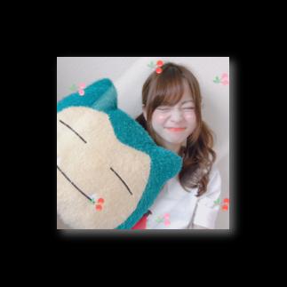 Official Siteᙏ̤̫͚のカビゴン(๑⃙⃘¯−¯๑⃙⃘)と双子さん Stickers