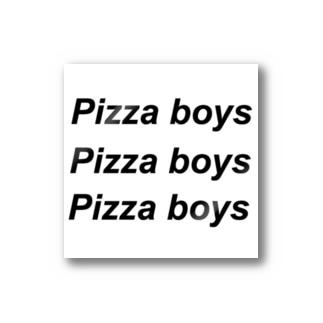 Pizza boys Stickers