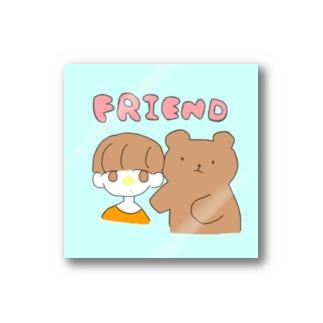くまとフレンド Stickers