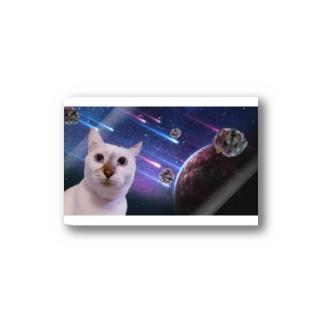 宇宙猫と宇宙ハムスター Stickers