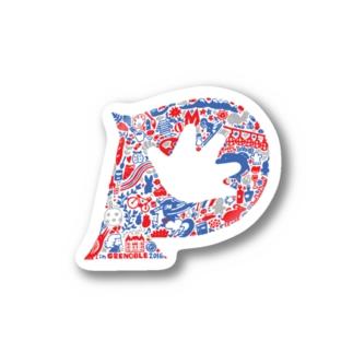 grenoble sticker Stickers