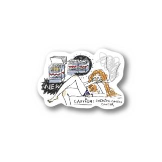 CAUTION! Stickers