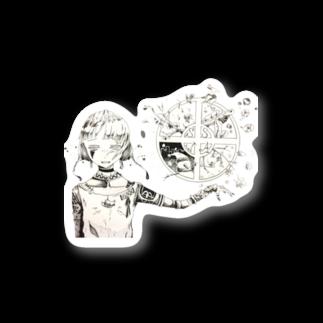 華美(かよ)の季節 Stickers