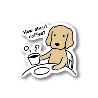 how about coffee 2 Stickers