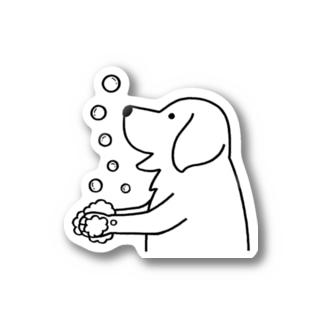 wash hands ステッカー