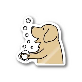 wash hands 2 ステッカー