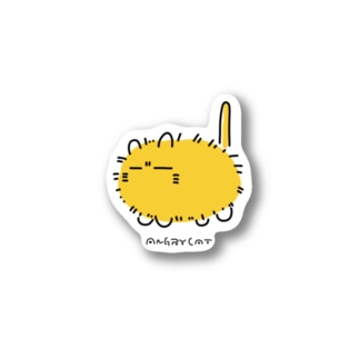 ANGRY CAT(sticker) Stickers