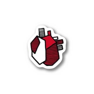 心臓 Stickers