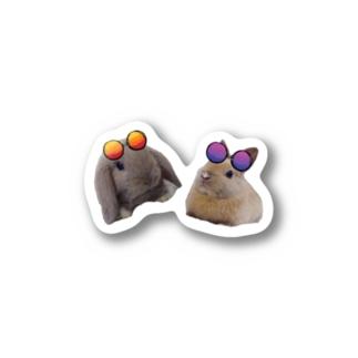サマータイムラビット Stickers