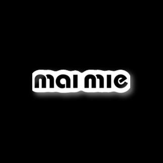 maimie WEB SHOPのmaimieちゃんロゴマーク ステッカー